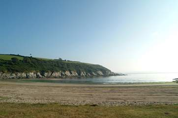 Maenporth beach.