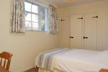 This is bedroom 3, with a double bed.