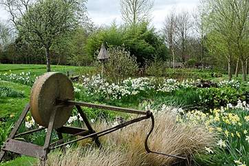The Owner's gardens are open to the public through the National Gardens Scheme. The first date is in April 2 - 5 pm.