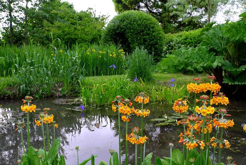 Garden lovers are able to visit the Owner's gardens by arrangement.