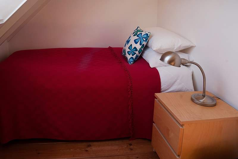 The single bedroom has a full size 3ft bed for an adult or child.
