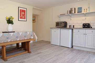 Just see how spacious the kitchen is!