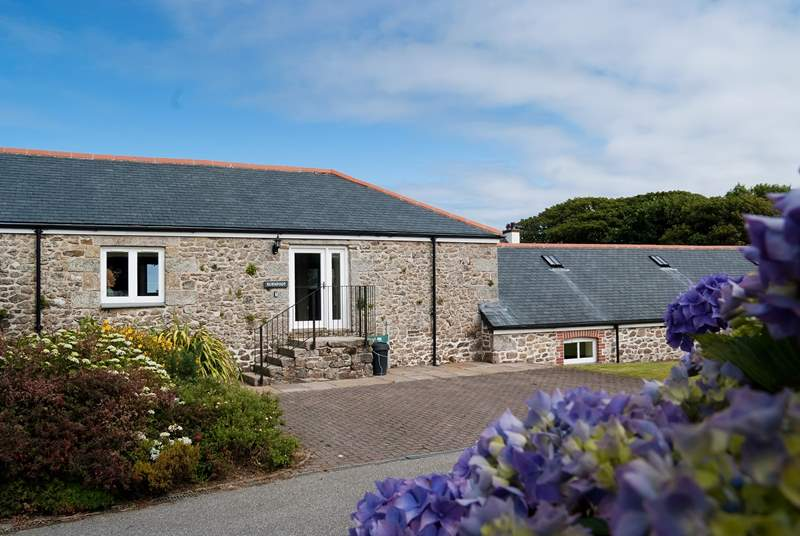 Burnfoot is an attractive stone built former barn.