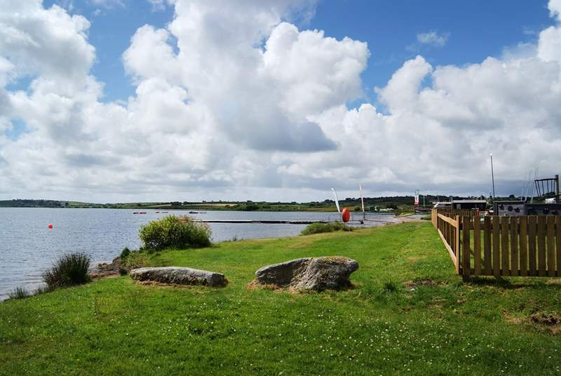 With sailing, windsurfing, Kayaking, canoeing, archery and climbing activities available, there is lots to do at the lake even if you prefer a relaxing stroll followed by light refreshments.