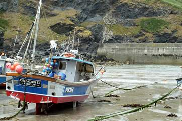 Could this be one of The Fisherman's Friends' fishing boats?