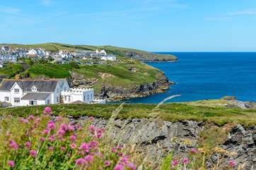 ...where you can take in the view across to Port Isaac, which is quite stunning.