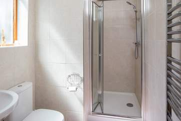 The en suite shower-room for bedroom 1