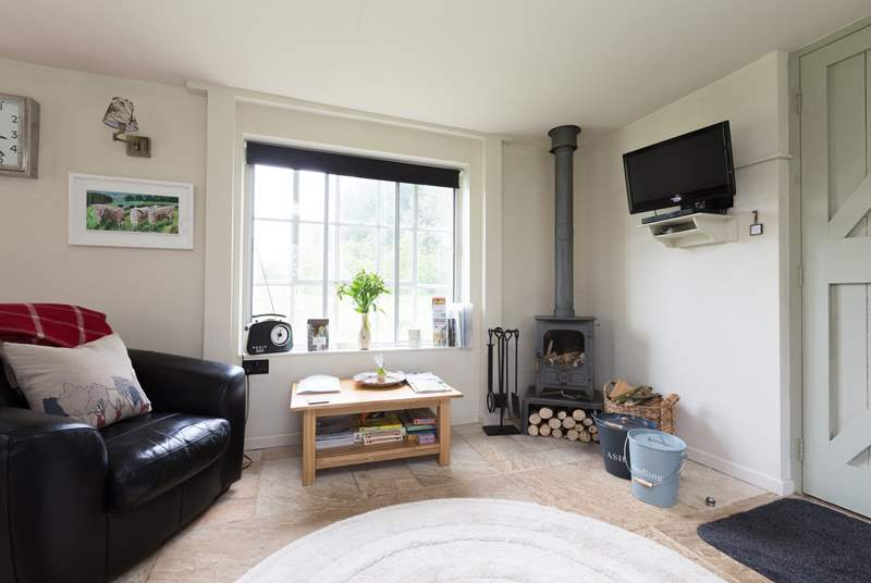 There is a wood burning stove for cosy evenings out of season