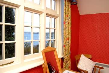 There are water views from the window of Bedroom 1.