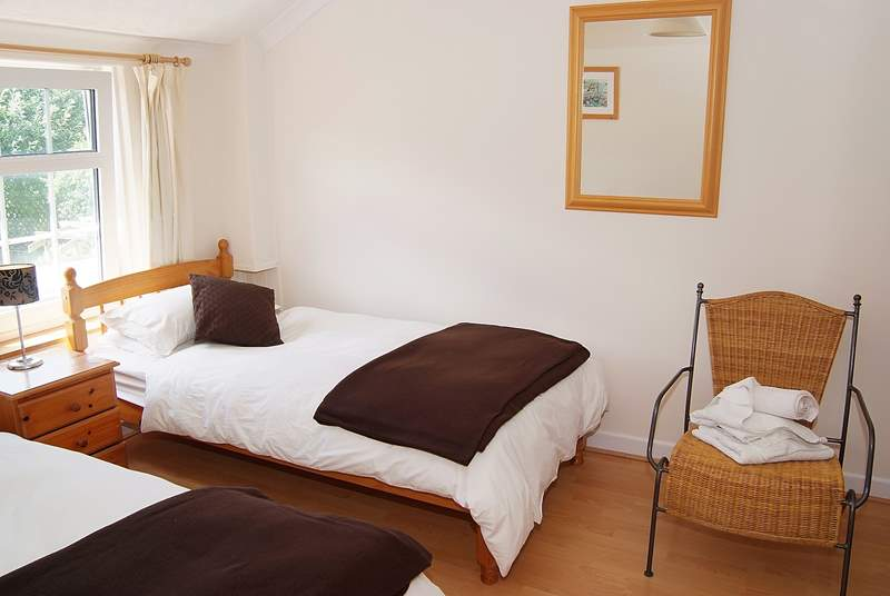 The twin bedroom (Bedroom 2) is comfortably furnished.