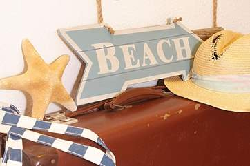 Pack up a picnic and head for the beach for the day....