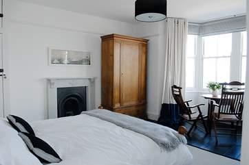 The en suite master bedroom (Bedroom 1 ).