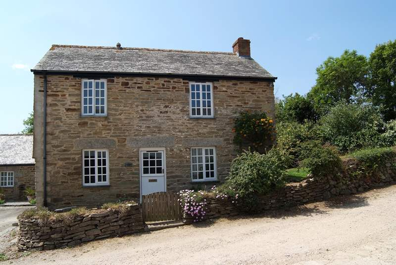 Smugglers Cottage is a peaceful rural retreat for two.