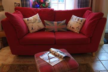 This lovely cottage is very comfortably furnished for a holiday at any time of the year.