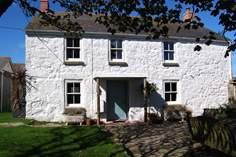 Trevilley Farmhouse - Holiday Cottage - 1.2 miles S of Sennen