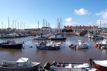 The Owners can offer private boat charter to their guests, setting off  from Seaton Harbour.