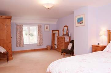 Another view of the en suite master bedroom to show just how spacious it is.