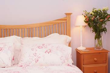 The cottage is beautifully furnished throughout.