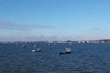 Poole Harbour is the UKs largest natural harbour.