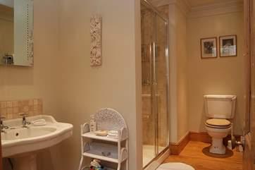 The en suite shower-room for Bedroom 4.