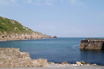 Lamorna Cove is nearby.