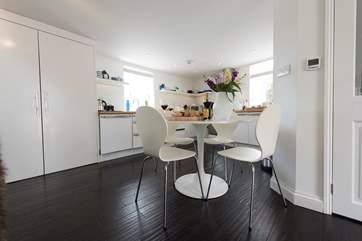 The kitchen-area,