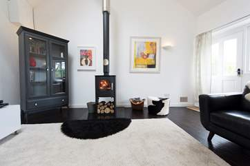 Relax infront of a roaring wood-burner.