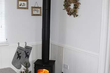 There is a lovely wood-burner in the cottage - a perfect base for all year round breaks.