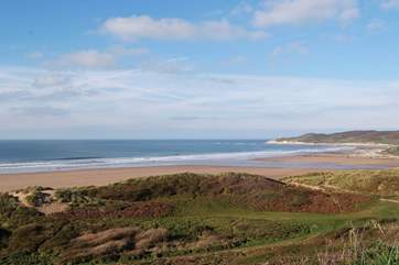 Woolacombe is another fabulous family beach nearby.