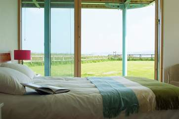 Once again, the views can be enjoyed from the master bedroom which has an en suite (Bedroom 1).