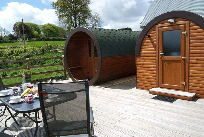 Glamping is fun and unique and Rivendell Glamping Pods are so much great fun.