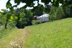 Poppy Yurt - Holiday Cottage - 6.2 miles W of Dartmouth