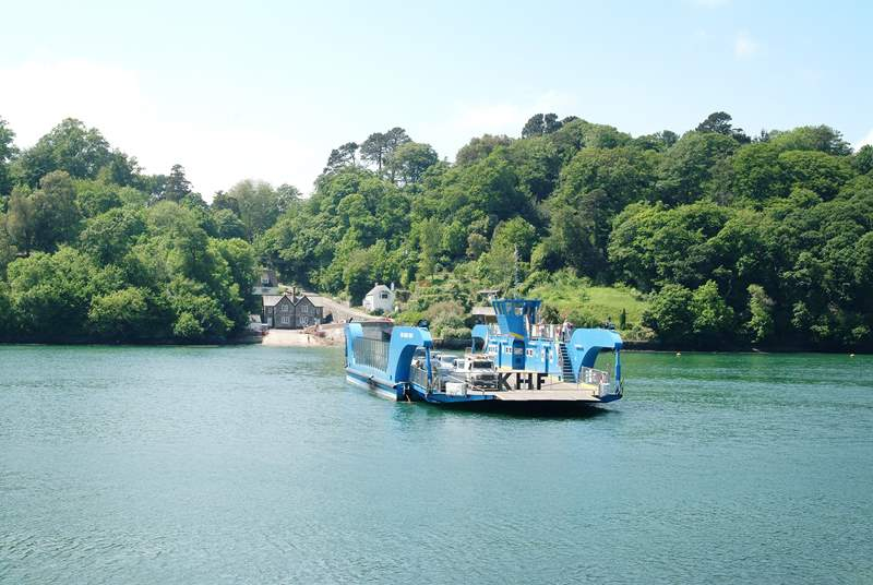 The King Harry ferry gives you a shortcut to the gorgeous villages and beaches of the Roseland peninsula.