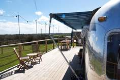 Finley Airstream - Holiday Cottage - 1.7 miles SE of St Agnes