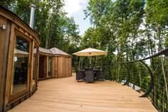 Pheasant Cedar Yurt