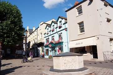 Bridport is a thriving market town just a few miles away - a great place to meander and watch the world go by.