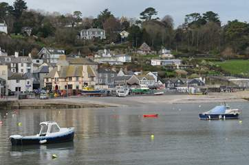 Lyme Regis is a great place to visit to marvel at fossils in the quirky shops that line the high street.