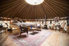 Elodie Yurt Sleeps 2, 1.5 miles NW of Shaldon.