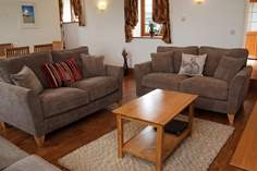 The Old Byre Sleeps 6 + cot, 1 mile E of Widemouth Bay.