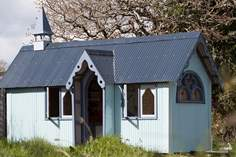 The Tabernacle at Frieda and The Moon Sleeps 2 + cot, 4.7 miles NW of Looe.