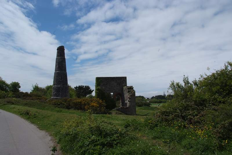 Walk or cycle the Great Flat Lode, a circular route of 12km around Carn Brea.