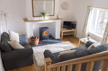 Comfy sofas to relax in after a day out exploring.