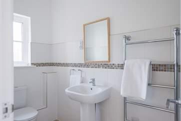 The en-suite to bedroom one.