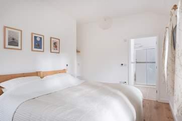 Bedroom two also has an en-suite.