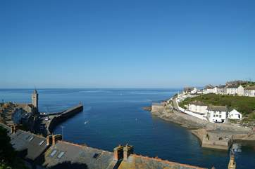 The stunning harbour at Porthleven.