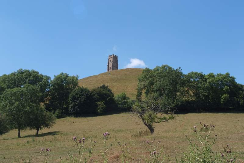 Climbing to the top of Glastonbury Tor is a great challenge but so well worth it for the stunning views from the top.