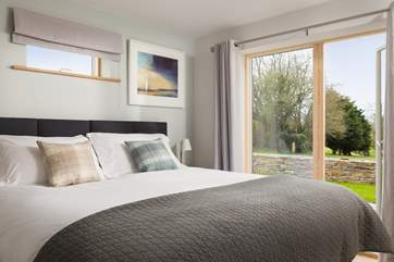 Both of the ground floor bedroom enjoy the views across the golf course.