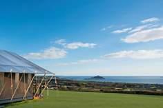Mount View Sunrise Safari Tent - Holiday Cottage - 2.2 miles NE of Penzance