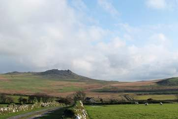 You could venture inland and don your walking boots to climb Roughtor.