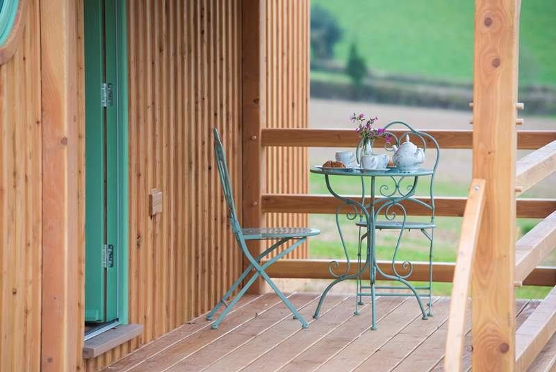 Sit back, relax and take in the fabulous countryside views.